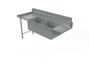 Soiled Pot Dish Table, For Upright Right Dishwasher