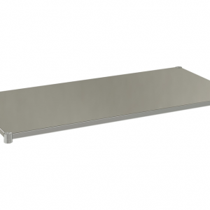 "Solid Shelf, 60"" x 24"", Stainless Steel"