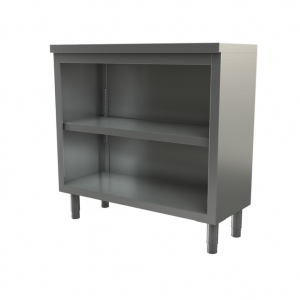 "Utility Cabinet, open, 48"" x 15"""