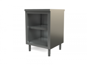 "Utility Cabinet, open, wall-mounted, 24"" x 24"""
