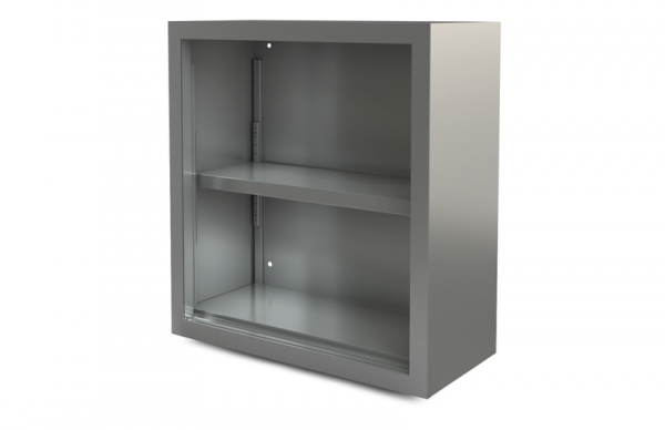"Utility Cabinet, open, wall-mounted, 54"" x 14"""