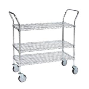 "Utility Cart, 60"" x 24"", 3-Tier"