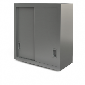 "Utility cabinet, wall-mounted, 48"" x 14"""