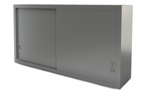 "Utility cabinet, wall-mounted, 72"" x 14"""