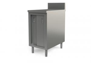 "Utility cabinet with backsplash, 18"" x 30"""