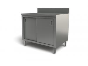 "Utility cabinet with backsplash, 30"" x 24"""