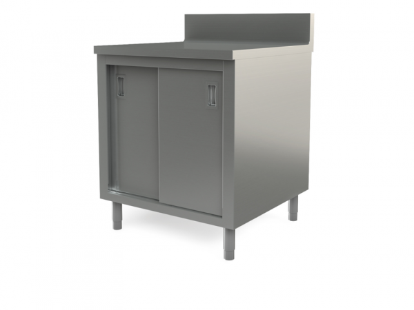"Utility cabinet with backsplash, 30"" x 30"""
