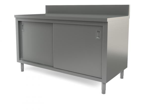 "Utility cabinet with backsplash, 54"" x 30"""