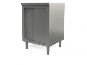 "Utility cabinet with flat top, 24"" x 24"""
