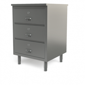 "Utility cabinet with flat top, 24"" x 30"""