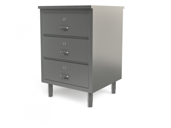 """Utility cabinet with flat top, 24"""" x 30"""""""
