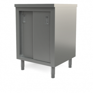 "Utility cabinet with flat top, 30"" x 30"""