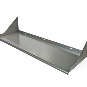 "Wall Mount Shelf, 54"" x 18"", Bracket Above"