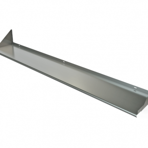 "Wall Mount Shelf, 96"" x 18"", Bracket Below"