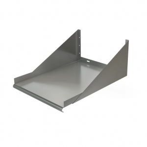 "Wall Mount Shelf, 36"" x 18"", Bracket Above"