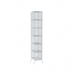 "Wire Locker, 12"" x 15"", Six Compartments"