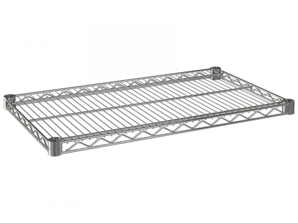 """Wire Shelf, 42"""" x 21"""", Value Epoxy"""