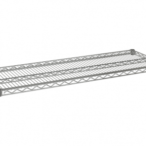 "Wire Shelf, 72"" x 18"", Value Epoxy"