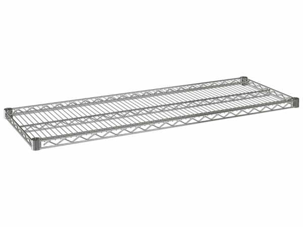 """Wire Shelf, 72"""" x 18"""", Value Epoxy"""