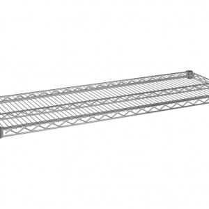 """Wire Shelf, 54"""" x 21"""", Value Epoxy"""