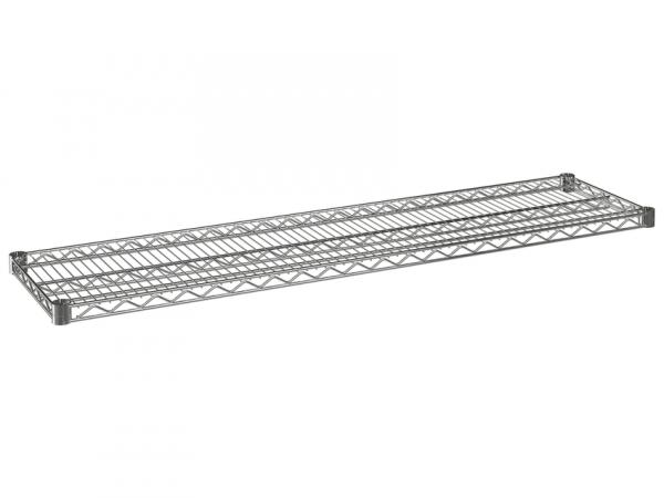 """Wire Shelf, 60"""" x 14"""", Value Epoxy"""