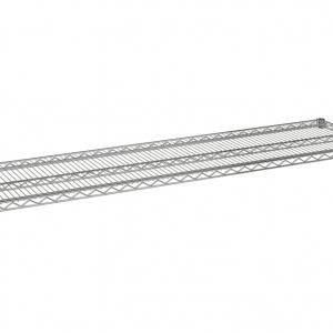 """Wire Shelf, 60"""" x 18"""", Value Epoxy"""