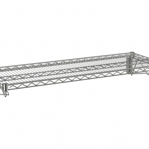 "Wire Wall Shelf, 1 Tier, 14"" x 24"" x 14"""