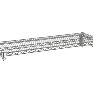 """Wire Wall Shelf, 1 Tier, 14"""" x 24"""" x 14"""""""