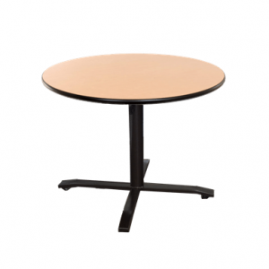 round adjustable table for wheelchair