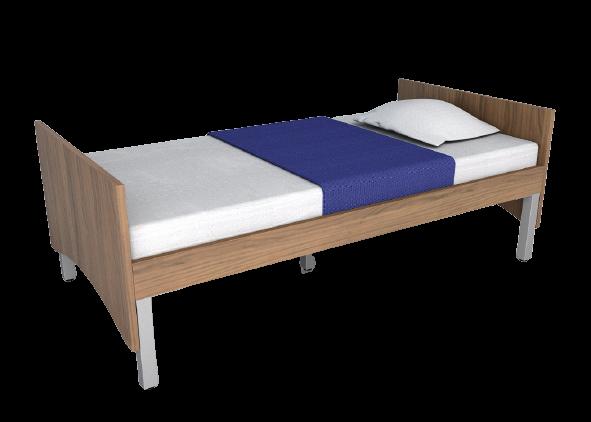 Intellicare Laminate Bed Frame